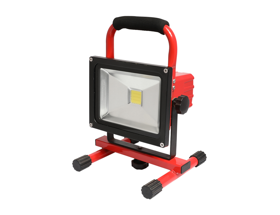Rechargeable flood light LED emergency work light L10-2001-20W-8H