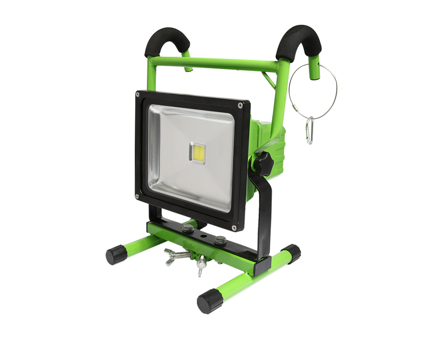 Portable led light IP65 LED Flood light Rechargeable led flood light L10-2001-30W-3H Fixed package