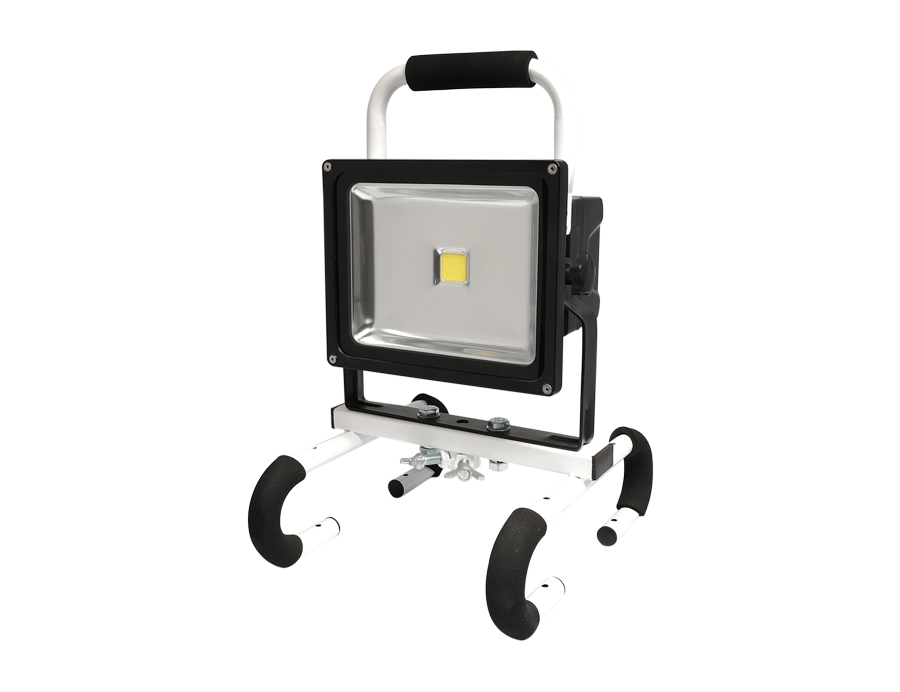 IP65 outdoor work light rechargeable led flood light L10-2001B-30W-LBL62B2200