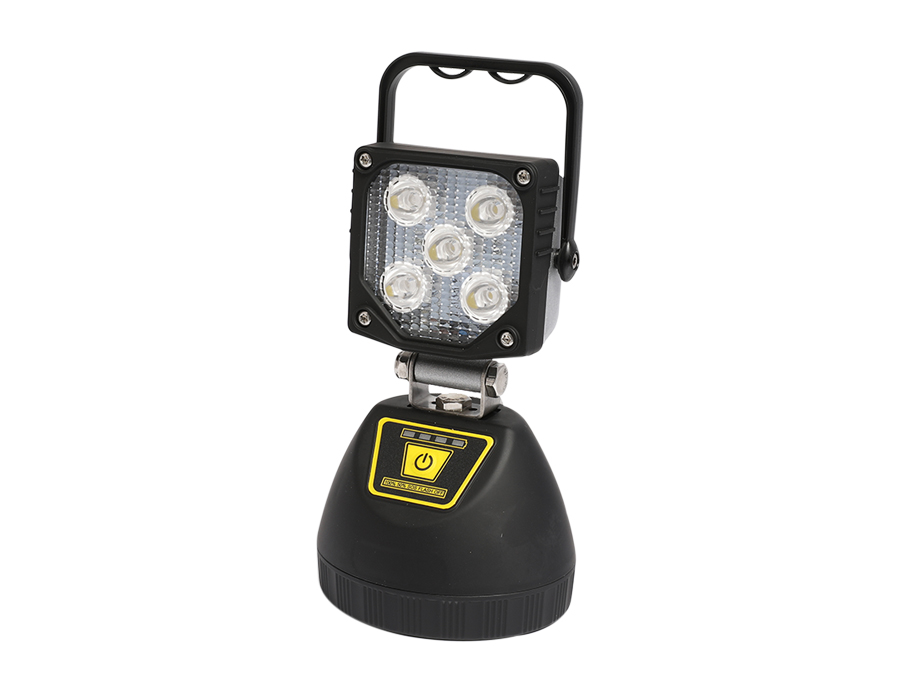 Portable Rechargeable 15W LED Spot Worklight L12-2002-5LED