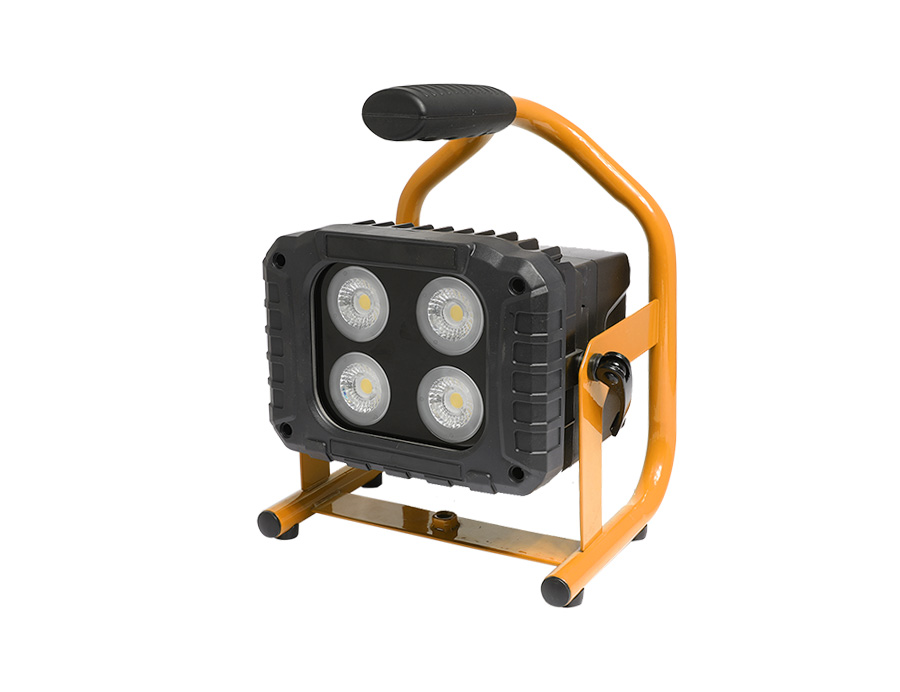 Portable lamps IP65 LED floodlight rechargeable L10-2040-40W
