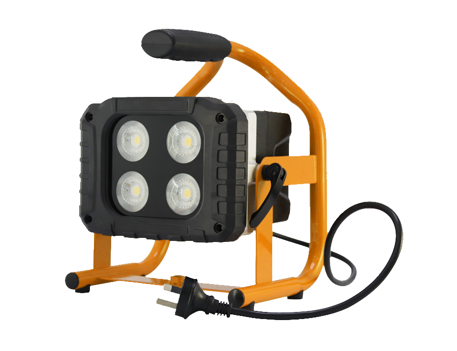 Rechargeable LED Flood Light Indoor/Outdoor IP 65 L10-HBD2040-40W-B